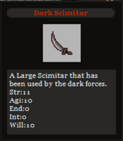 Dark Scimitar