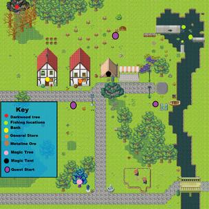 Darom map