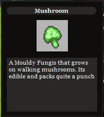 Mushroom item