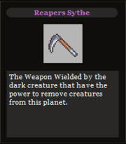Reapers Sythe