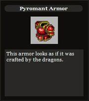 Pyromant armor