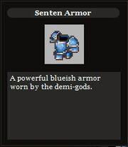 Senten armor
