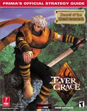 Evergrace Official Strategy Guide Cover