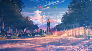 Площадь (закат)