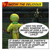 Jimothy The Delicious Comic S