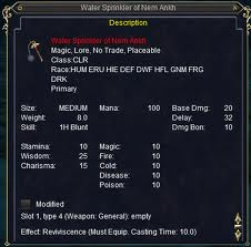 Cleric Epic | EverQuest Wiki | FANDOM powered by Wikia