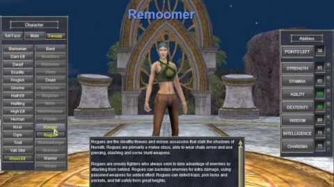EverQuest Character Creation