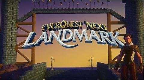 What is EverQuest Next Landmark? - OFFICIAL video
