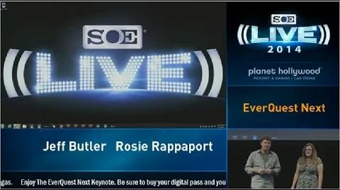 EverQuest Next SOELive 2014 Keynote OFFICIAL