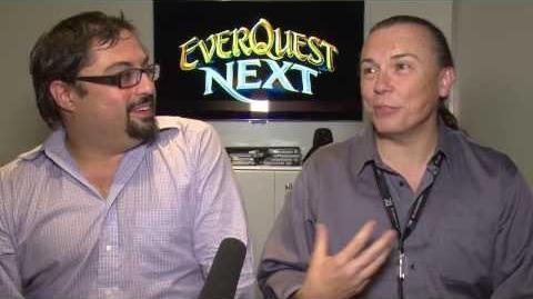 Gamescom2013 EverquestNext Interview David & Omeed 1 3