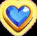 Blue Heart Crystal