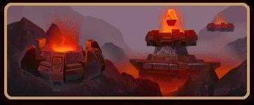 Darkfire volcanos