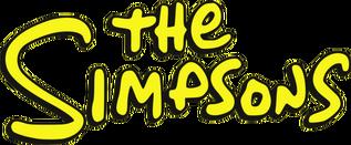 The Simpsons logo - Yellow