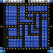 Arrow maze linear