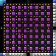 Arrow maze pattern