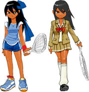 Hot shots tennis artwork jun by mediaman44-d4jzoeh