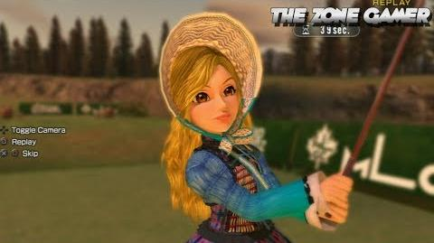 Everybody's Golf 6 - Hole in one