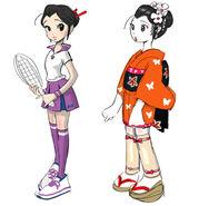 Hot shots tennis artwork momoko by mediaman44-d4jzp6j