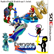 Everyone Riders 3DS