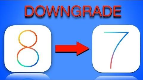 HOW TO Downgrade from iOS 8 to iOS 7 Go back to iOS 7.1.1