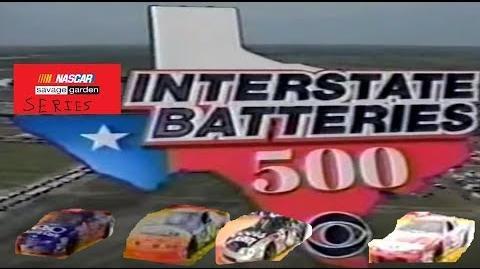 NASCAR Savage Garden Series - 1997 Interstate Batteries 500