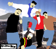 Anime Boys in Australia