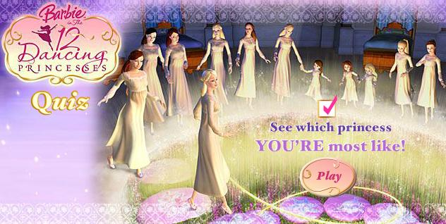 12 Dancing Princesses Quiz Everything Barbie Wiki Fandom