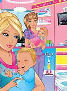 Z nurse brey barbie baby