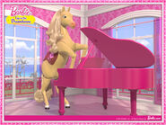 Tawny piano