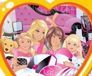 Chelsea, Stacie, Barbie, Skipper and Taffu