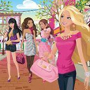 Barbie, teresa, nikki, raquelle