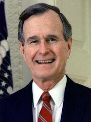 280px-43 George H.W. Bush 3x4