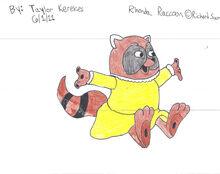 Rhonda raccoon by rkerekes13-d3hvrj5