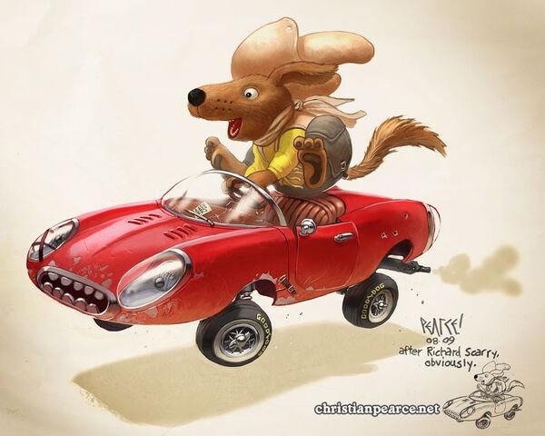 File:Richard Scarry Fan Art by ChristianPearce.jpg