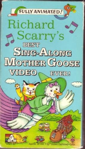 Richard Scarry S Best Sing Along Mother Goose Video Ever