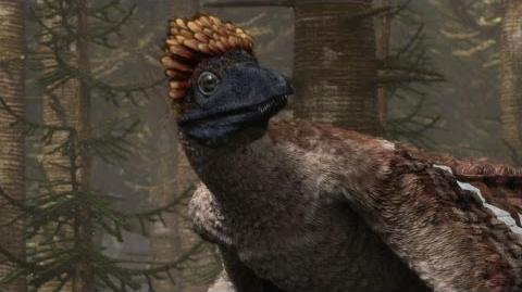 Microraptor - Flying Dinosaur - Planet Dinosaur - BBC-0