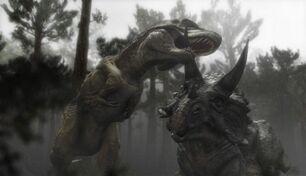 Trike vs Rex
