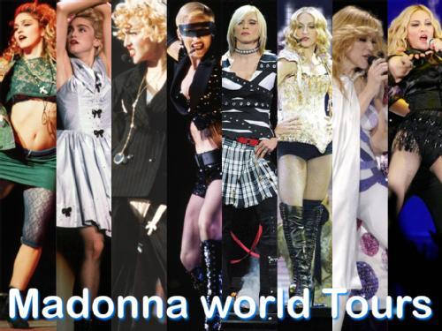 Madonna World Tours