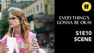 Everything's Gonna Be Okay Season 1, Episode 10 Matilda Can't Do New York Alone Freeform