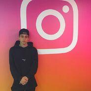 Liam at instagram headquarters