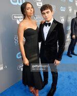 Tyler & Denisea Critic's Choice Awards 2018