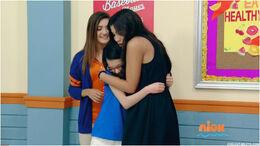 Emma Jessie hug