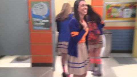 Zoey Pranked On Set Of Every Witch Way!