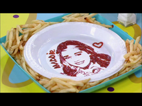 Maddie in ketchup