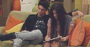 Jemma studying 220