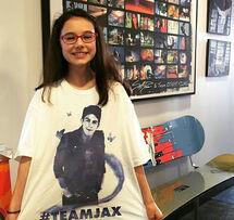 Julia is Team Jax