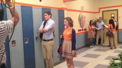 BTS from season 2 of Every Witch Way!
