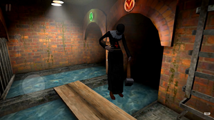 Монахиня в канализации