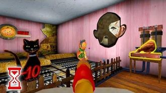 Куриный двигатель Добыл второй кусочек маски Evil Nun 1.1.8