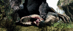 Vastatosaurus rex's death.